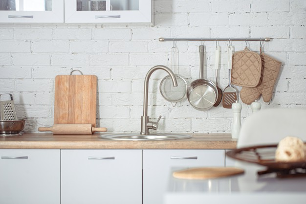 rullebord i køkkenet